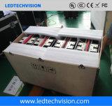 Visualización de LED de HD para el alquiler fijo (cabina fundida a troquel P2.5mm)