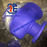 Valvola a sfera pneumatica di galleggiamento a tre vie del acciaio al carbonio dell'azionatore di API/DIN
