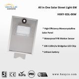 6W Outdoor Lights Solar Integrated Motion Sensor Solar LED Street Light Lampara Solarの庭Light
