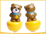 Lustige Spielwaren-glückliche Zirkus-Spielwaren-Trommel-Bären-Baby-Spielwaren