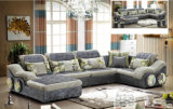 Sofà piacevole della mobilia del salone di sensibilità (2195)
