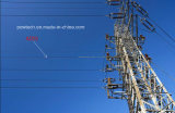 ADSS tutto cavo ottico esterno ottico dielettrico della fibra di singolo modo della portata del filato 100m di Aramid di sostegno di auto