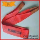 10т Красный Polyesterwebbing Слинг 10т X 2m (можно настроить)