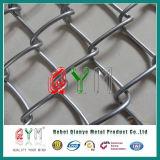Cerca revestida de cadena de la conexión de cadena de la conexión Fence/PVC de Glvanized de la cerca de la conexión del Qym-Encadenamiento