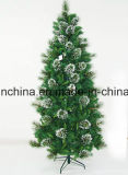 2017 무리를 짓 끝 및 점화 (SU08)를 가진 새로운 크리스마스 나무