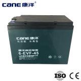 bateria recarregável do poder solar de 12V 45ah Opzv