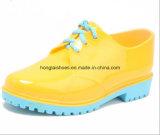 Bottes en caoutchouc hautes et bottes de caoutchouc filles chaussures aquaplaning impression Wellies