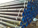 API 5L Psl1 GR. Tubulação de aço preta de B 12inch Sch40, tubulação de aço de Dn300 Sch80