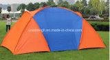 Großer Platz wasserdichtes kampierendes 1 plus 2 Raum-kampierendes Strand-Zelt