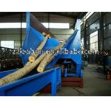 専門のマツ木ログの皮機械
