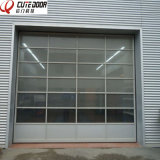 Industrial Automatic Top Seller Interior Frosted Glass Perspective Lifting Door