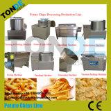 30kg/H kleinschalige Bevroren Verse Chips die Machine maken