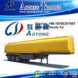 2-3 eixo 25t-50t Flammable Liquid Fuel Oil Chemical Tank Semi Truck Trailer (43m³) (LAT9350GRY)