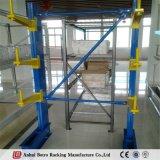 Estante modificado para requisitos particulares fábrica del voladizo de la fabricación de metal de hoja