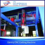 Machine taillante de fabrication de découpage en acier de poutre en double T avec du Kr-Xh de découpage de flamme de plasma