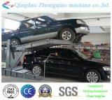 Paletto due che inclina l'elevatore idraulico di parcheggio dell'automobile
