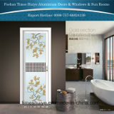 1.0mm~2.0mm Aluminiuminnenflügelfenster-Tür mit verschiedenen Mustern