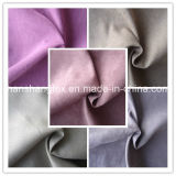 Woven polivinílico Suede Functional Brushed Upholstery Fabric para Sofa (HS)
