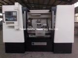 CNC 선반 기계 Ck6180W 합금 바퀴 닦는 기계
