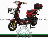 Motocicleta elétrica de borracha dianteira