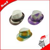 Sombrero del sombrero de ala, sombrero de papel, sombrero de papel tejido, sombrero de paja