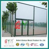 Qym-Kette Link-Zaun Glvanized Kettenüberzogener Kettenlink-Zaun des link-Fence/PVC