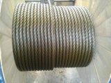 Graisse lourde de constructeur tournant non le câble en acier 35X7