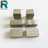 대리석 단단한 돌 절단을%s 24X8.5X13mm 다이아몬드 세그먼트