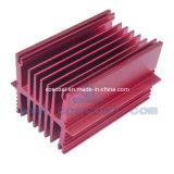 De aluminio del disipador de calor (película retira 400 grados centígrados o 25 a 125 micras anodizado )