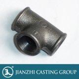 UL/FM/Ce genehmigte galvanisierte schwarze formbares Eisen-Rohrfittings der 130 Stück-Verzweigung