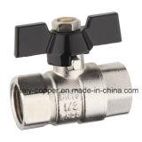ISO9001 certificou a válvula de esfera masculina forjada bronze da borboleta (AV1060)