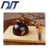 Kom van de Rijst van de Jujube van de Zwarte Kers van de Japans-stijl de Uitstekende Houten