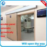 Recht-geöffnete automatische hermetische Tür mit Fenster