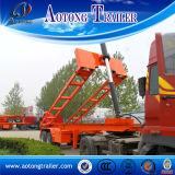 새로운 디자인 U 타입 3 차축 판매를 위한 트레일러 50 톤 반 덤프