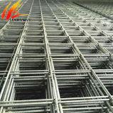 構築の骨がある棒によって溶接される鋼鉄補強の金網