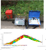 Proyección de imagen de la resistencia, tomografía de Geo, Tomograph eléctrico, resistencia geofísica, detector del agua subterránea, detección del agua de subterráneo,
