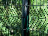 Galvanisierter und Belüftung-überzogener Maschendraht-Zaun