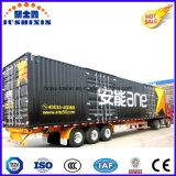 Caliente Heavy Duty Económico 3 ejes Furgón / Box / Logística Camión Utilitario Semi-remolque de carga con precio competitivo directo de fábrica