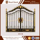 Самые последние конструкции главного входа/конструкция главного входа двери американского стального входа двери стальные/строб сада металла