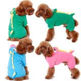Costumi del cane del dinosauro di inverno della fabbrica con quattro piedini