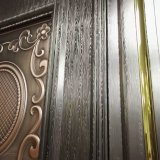 300 series del cobre plateado cubican la hoja de acero inoxidable para el panel de pared