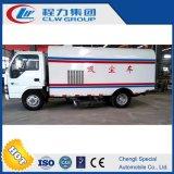 Carro del producto de limpieza de discos del polvo del coche del vacío de Isuzu 4X2 6 Cbm