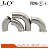 衛生ステンレス鋼BS 45度によって溶接される長い肘
