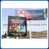 Impresión brillante puesta a contraluz Frontlit al aire libre de la bandera 680g Digitaces de la flexión de la publicidad