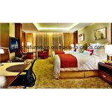 Pode ser a mobília personalizada do quarto do hotel