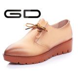 製造業者の革最新の平らな靴