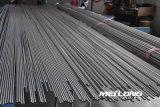 Ligne hydraulique sans joint tube d'acier inoxydable de la précision Tp316