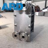 Titanio de la placa Ss304 Ss316 del cambiador de calor de la placa de Funke Fp40 Fp41