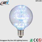 Luz decorativa livre do roxo do diodo emissor de luz da amostra E26 E27 ST64 3W