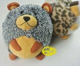 Brinquedo do luxuoso do animal de estimação dos produtos do animal de estimação do urso longo do pé para o cão
